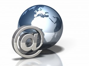 Globe Icon: Email